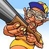 Grandpa Grumble Skeet Shoot